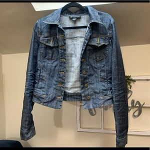 Inc denim jacket size large